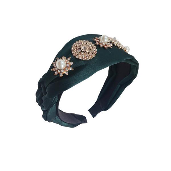 Fashion Ins Boutique girls Hair Sticks rhinestone princess designer headband hair accessories for women headband kids hair bands A5473