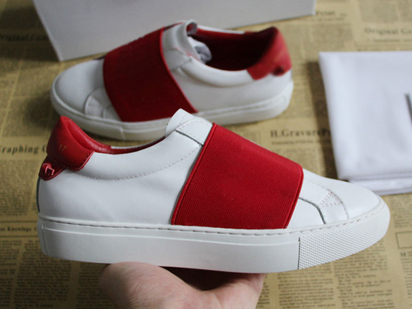 NEW fashion men designer shoes top quality real leather designer trendy sneakers women Open beautiful best shoes for sale size 35-46