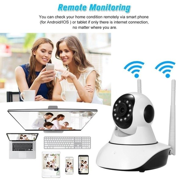 Infrared wireless IP security camera Wifi home surveillance camera monitoring system support P2P remote monitoring function for home Babay o