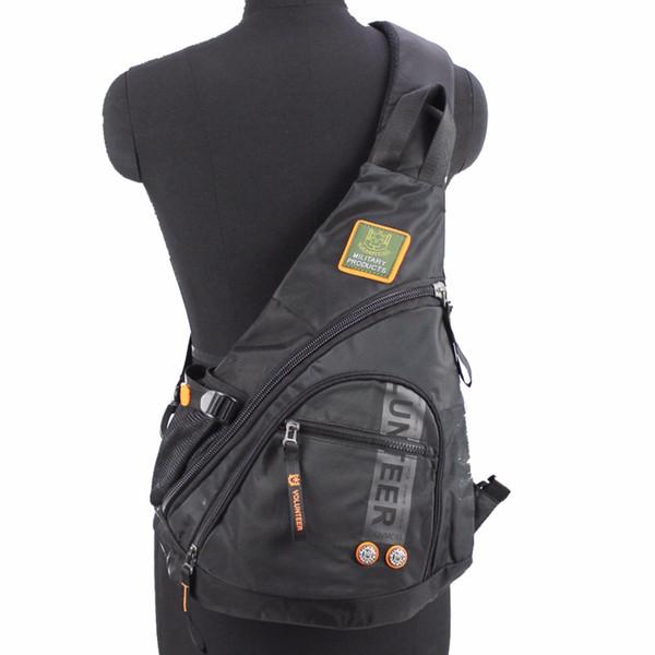 Men Oxford Sling Knapsack Shoulder Messenger Chest Bag Laptop Kettle Travel Assault Single Back Pack Cross Body Trekking Bags