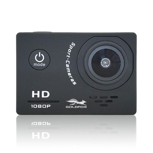 "Goldfox Action Camera HD 1080P 2.0"" LCD Screen 120D Go Underwater 30M Waterproof pro Video Recording Cameras Mini Sport Cam"