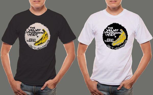 Velvet Underground Band avec le t-shirt noir et blanc des hommes Nico Anastasia Pusheen