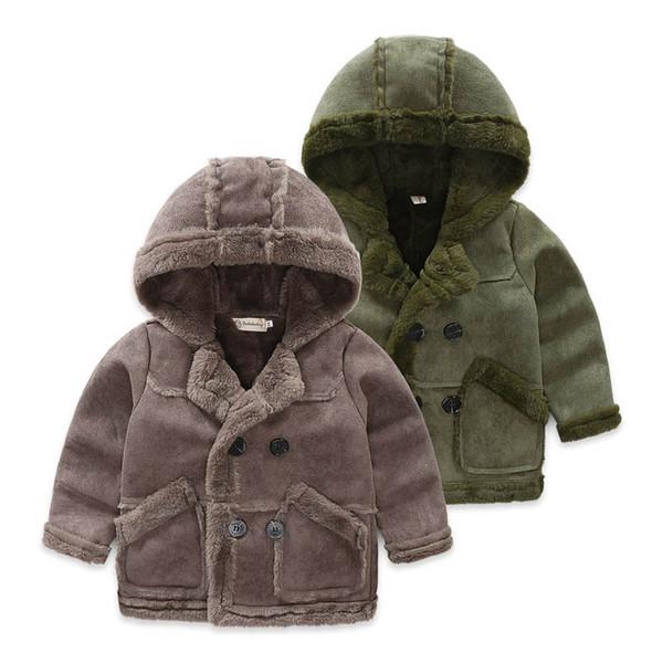 Otoño Invierno ante de los niños de invierno abrigos chicos abrigos niños abrigos ropa del cabrito chaqueta del muchacho ropa de los muchachos niños chicos capa chaqueta A9364