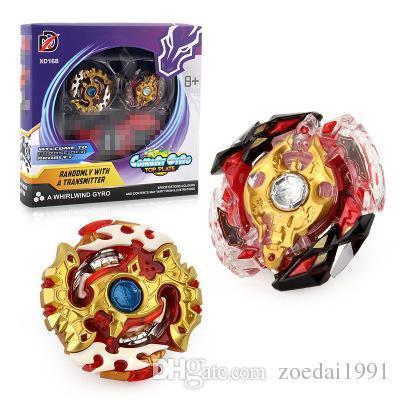 2Pcs / Set Beyblade Burst top jouets pour enfants XD168-7B avec Battle Plane avec Lanceur Métal Fusion 4D beyblades jouet cadeau pour enfants