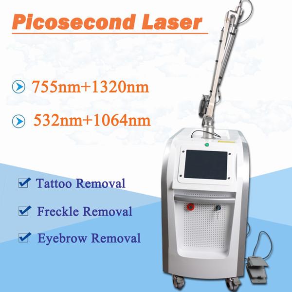 picosure enlèvement de tatouage enlèvement de l'acné peau foncée à la maison de machine de laser de nd yag machine de laser de picoseconde serrage de peau