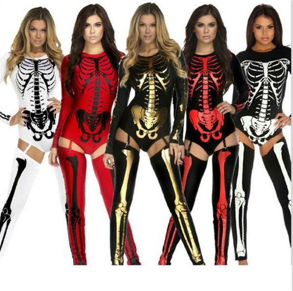 INS Хеллоуиной костюм косплей Череп Ведьма Vampire Queen Devil Призрачный Party Одежда Big Дети Женщины Торжественный Сексуальная одежда B11