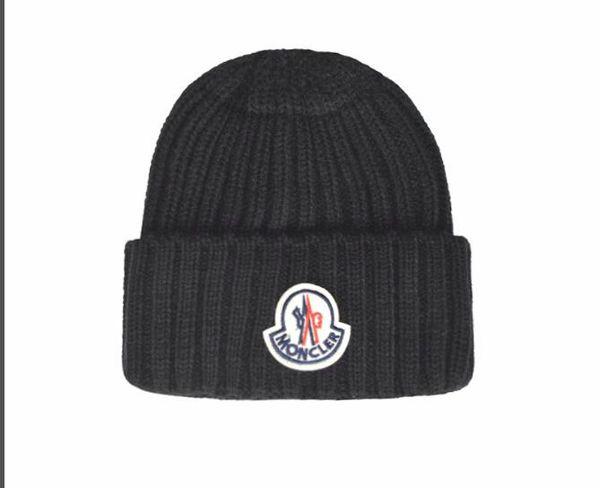 NUEVO invierno unisex Caps Francia las marcas de la chaqueta de los hombres de moda del sombrero de punto de deporte clásica del cráneo tapas femeninas hombre informal al aire libre de las mujeres Gorros de gallina