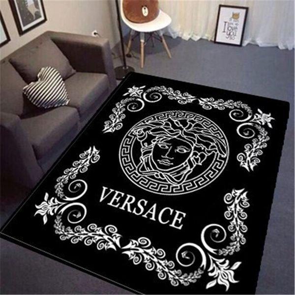Tappeto di stampa dea nuova Tappetino in stile europeo con motivi decorativi Tappetino 3D Stampa di moda Tappetino per soggiorno Tappeto per yoga
