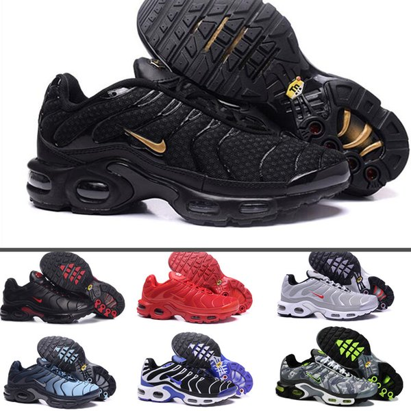 qualité stable magasiner pour les plus récents 2019 professionnel Fast Shipping 2019 Top Quality MENs Air TN ShOes ChEAp BASKET REQUIN  Breathable MESH CHAUSSURES HoMMe Noir Zapatillaes TN ShOes Cheap Heels  Comfort ...