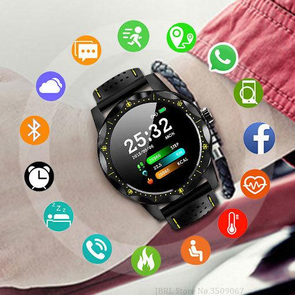 Top Sport Smart Watch Hombres Relojes Digital Led Reloj de pulsera electrónico para hombres Reloj masculino reloj impermeable Relogio masculino MX190716