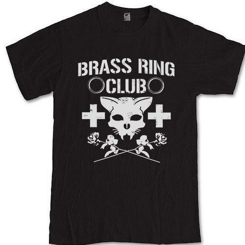 BRASS RING CLUB tee Tyson Kidd Wrestling Adam Rose S M L XL 2XL 3XL t-shirt