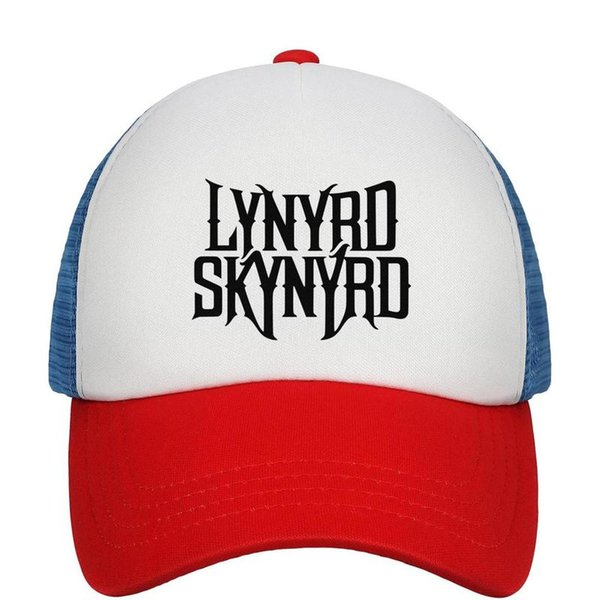 Kids Boys Girls Unisex Adjustable Baseball Cap Street Survivors Lynyrd Guitar Skynyrd Sun Protection Cap Mesh Back Cap