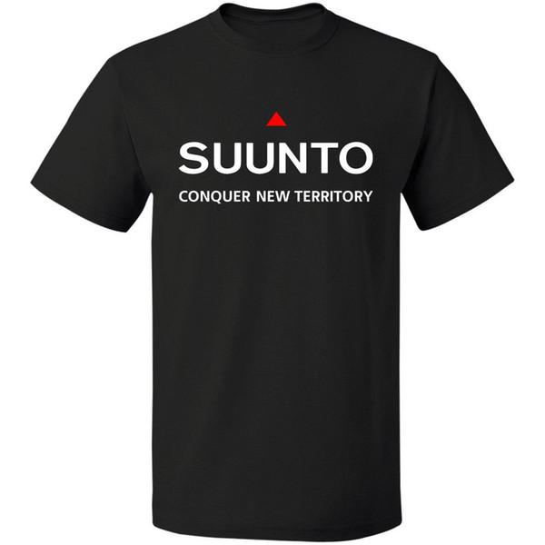 Suunto Spartan Ultra Uhr Kompass Logo S-3XL T-Stück Tropfenverschiffen T-Shirt Männer Kurzarm T-Shirt