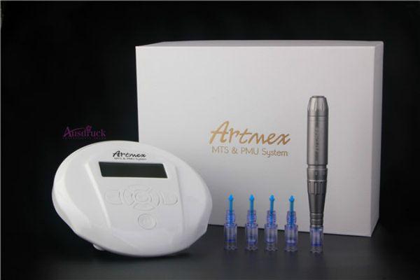 Artmex V6 model Tattoo Permanent Makeup Pen Machine Eyebrow Make up&Lip Rotary Tattoo Machine Strong Motor Pen Gun CE