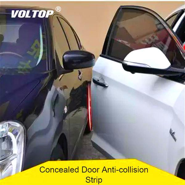 Tira protectora de parachoques de puerta de coche de 5 m Decoración de coche Línea interior Accesorios de niña Adornos colgantes de tablero de instrumentos