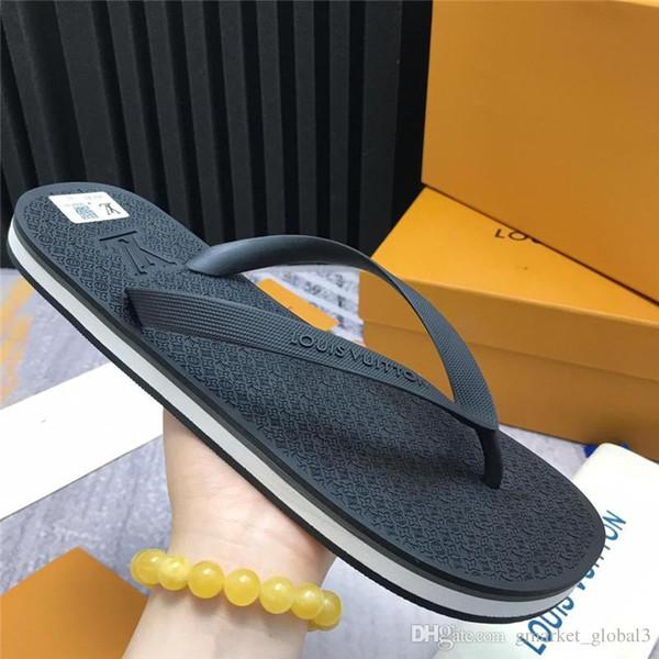 Luxury Molitor Thong di alta qualità 1A2CX4 Sandali da uomo Infradito Molitor 1A45V4 Flip-flop in gomma Scarpe firmate Sandali Cintura misura 3