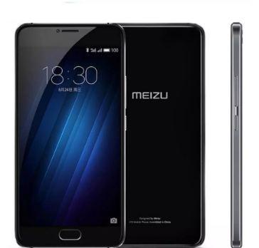 Ursprüngliches Meizu U20 2G 16G Mobiltelefon MTK Helio P10 Octa-Kernzellulärer Fingerabdruck ID 1920x1080p 5,5