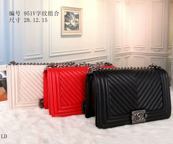 19 Große Strand Umhängetaschen Cross Body Handtaschen Damentaschen berühmte Mode Taschen Schaffell Kette Tasche