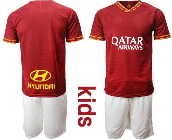 Custom Kids 2019 2020 Kit da calcio Italia Top Club Youth Junior da calcio Camisa Corinthians baby neonato ragazzo abiti firmati