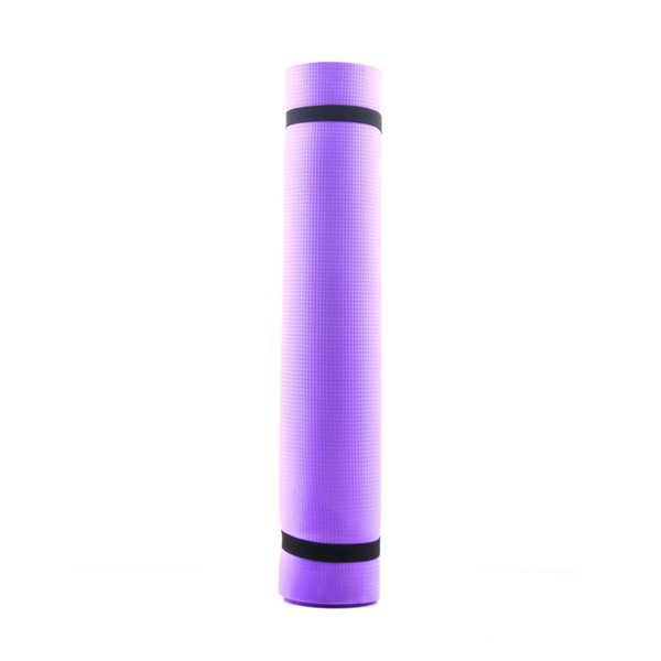 New Promotiono Yoga Mat Exercise Pad 6MM Thick Non-slip Gym Fitness Pilates Supplies For Yoga Exercise