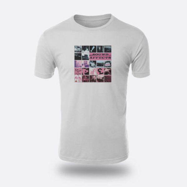The Jam Sound afecta a la camiseta de los hombres New Wave 1980 Tamaño S a XXXL Camiseta blanca