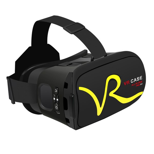 RK-A1 VR CASE Box Virtual Reality 3D VR Glasses Cardboard for Xiaomi Samsung S6 S5 S4 iPhone 5 6S plus 4.0-6 inches Smartphone