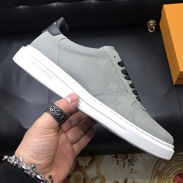 Low Top Mens Shoes New Arrival Chaussures pour hommes Autumn and Winter Plus Size Lace-up Luxury Fashion Flats Platforms Casual Shoes