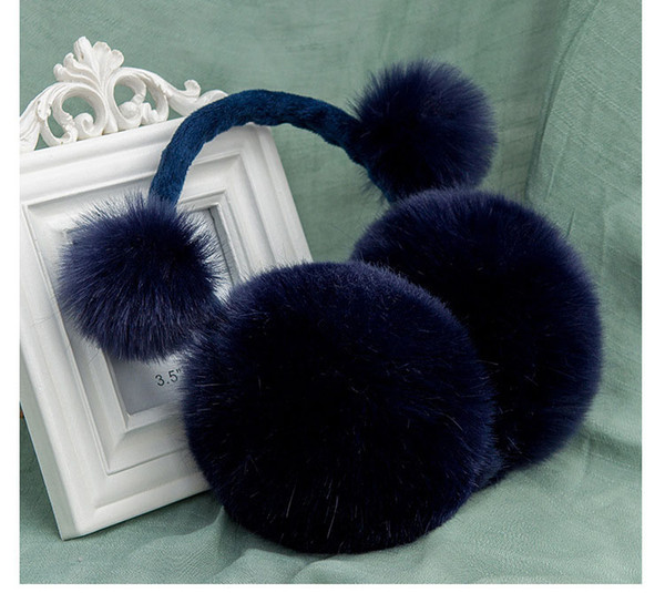 2017 Children Winter Earmuffs Imitation Fur Ear Muffs Lovers Warmer Fashion Plush Earmuffs For Girls Boy Baby adult DW25