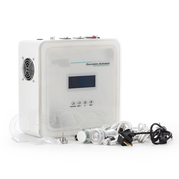 No-Needle Mesotherapy Machine Multifunctional Meso Electroporation Gavanic Photon Cooling RF Facial Machine For Wrinkle Removal & Skin lifti