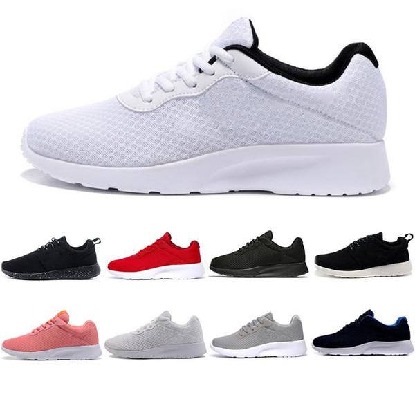 El más nuevo 2019 Tanjun Run Running Shoes hombres mujeres negro bajo Ligero transpirable London Olympic Sports Designer Sneaker mens Trainer 36-44