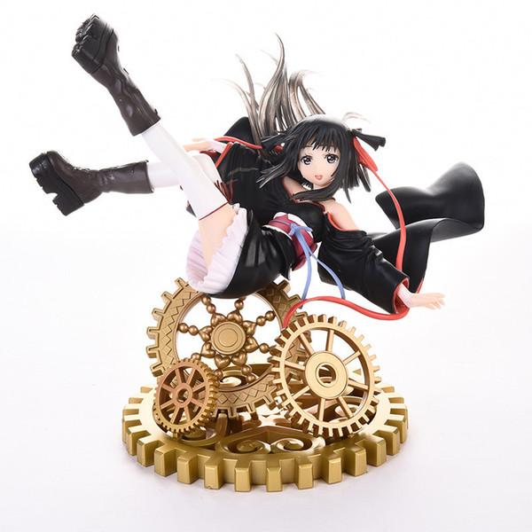 17cm Yaya Machine-doll Wa Kizutsukanai Kikou Shoujo Wa Kizutsuka Nai Sexy Girls Anime Pvc Action Figures Toys Anime Figure Toys
