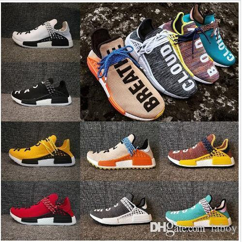 eedc0698a91e9 2018 NMD HUMAN RACE Trail boots x Pharrell Williams mens womens Running  shoes ultra nmds Men