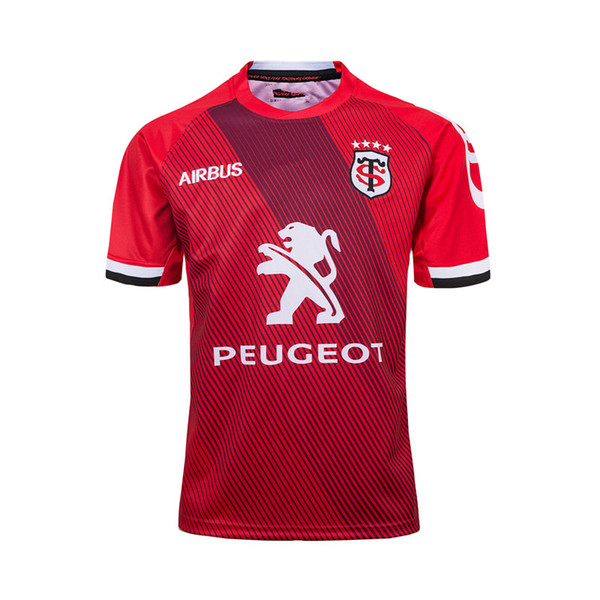 best selling 2019 STADE TOULOUSAIN Toulouse Rugby Jerseys League jersey Tluth shirt Leisure sports Lentulus shirts