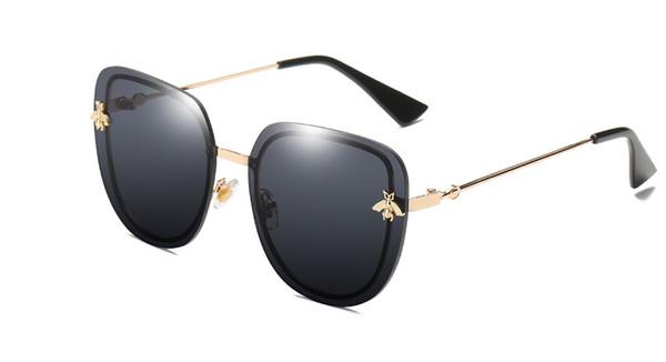 7 colores Gafas de sol cuadradas Hombres Mujeres Celebrity Gafas de sol Masculino Superstar Diseñador de la marca Mujer Shades UV400