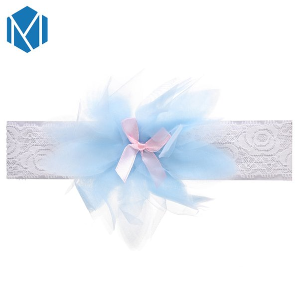 Lovely Baby Lace Elastic Hair Band Children Kids Flower Bowknot Headband For Newborn Toddler Hair Accessories
