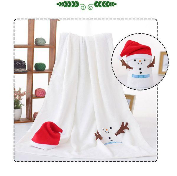 Gajjar Blanket Christmas Cartoon Flanelldecke Hut und Flanell Set Schneemann Super Soft Christmas Fluffy No15