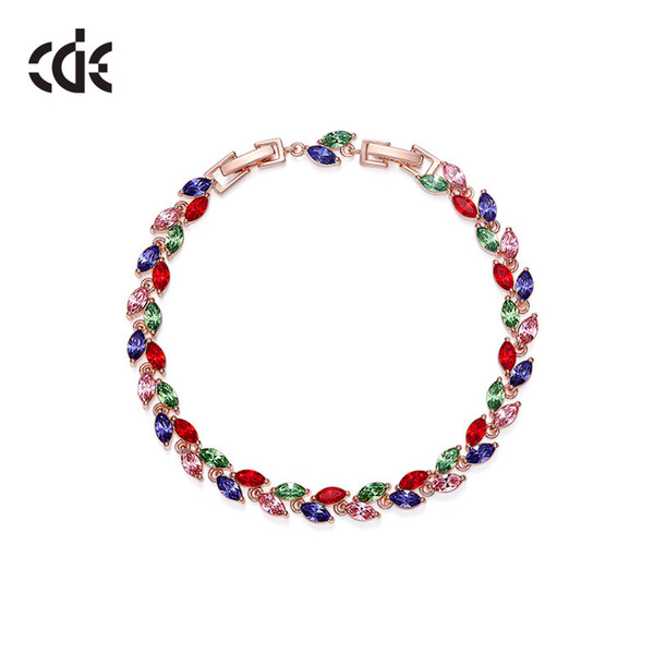 Wedding Party beaded pearl gift woman lady diamond jewelry Bracelets for bride acting initiation graduation CDE-1390
