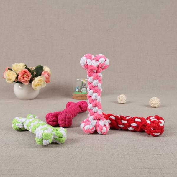 top popular Dog Toys Chews bone ropes pet dog toys Color bone type Color bone type Pet Puppy Chew toy 17 cm LX6661 2021