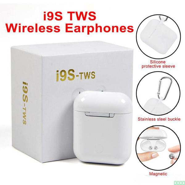 Top vente I9S Tws écouteur casque stéréo TWS écouteurs pour IOS Android avec boîte de charge sans fil Bluetooth 0000