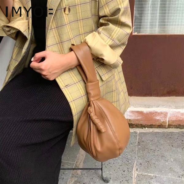 Nueva PU de cuero de la vendimia de las mujeres bolsos de moda Python Damas patrón Bucket el asa superior informal monedero femenino de la muñeca del bolso de embrague