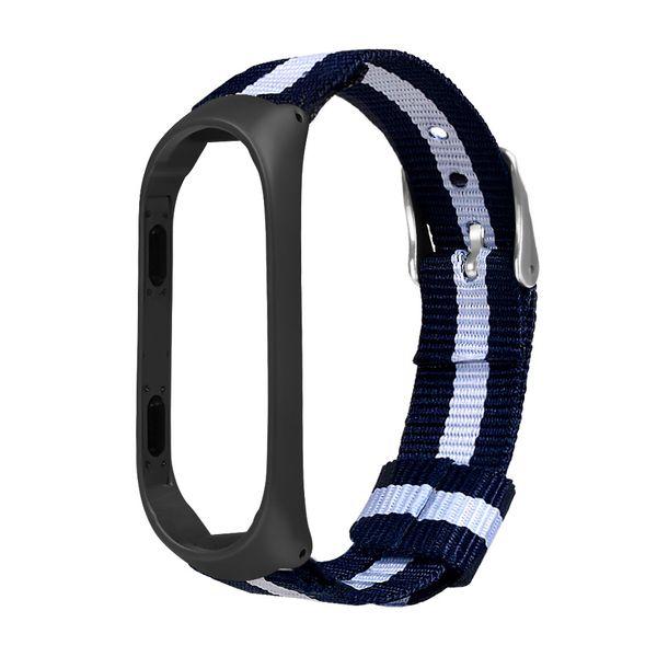 2019 Watchband Luxury Nylon Ultrathin Metal Wristband Strap Watch Band For Xiaomi Mi Band 3 Fashion Simple Men Women Watch Belts