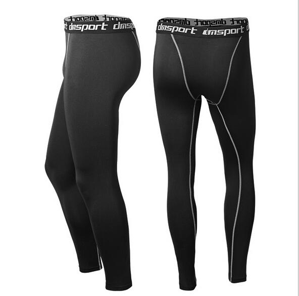 Fitness Sports Quick Dry Fitness Gym Compression Pro Tights Trousers Running Legings Men Pants Joggers Basketball Leggings training Running