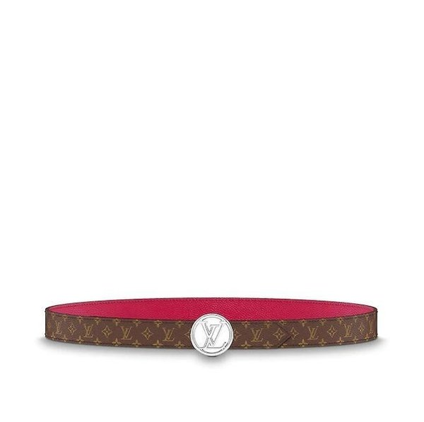 M0056U CIRCLE 25 MM DOUBLE-SIDED BELT Women Authentic Reversible Belt New Official Men Belt With Box Gift