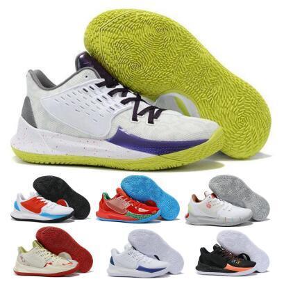 Kyrie Düşük 2 Basketbol Ayakkabı Sneakers Sünger Bay Yengeç Sandy Yanaklar Squidwards Yeşil 2020 Yeni Geliş Erkek Tasarımcı Eğitmenler Spor Ayakkabıları
