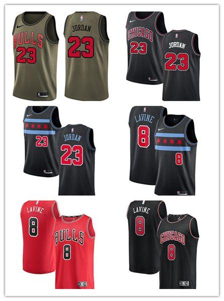 huge selection of 30ee1 b921a 2018/19 Chicago Zach LaVine 23 Michael Bulls Fanatics Branded Fast Break  Swingman Basketball Jersey City Edition Dress Shirt Cheap T Shirts From ...