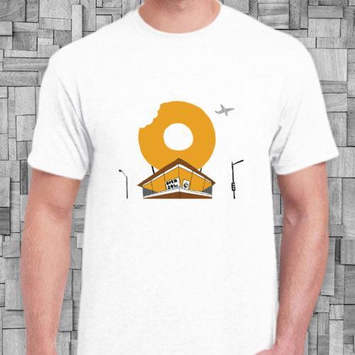 J Dilla Donuts Album Cover New White T Shirt Interesting T Shirts T Shirt  Buy Online From Emisaputr, $10 82| DHgate Com