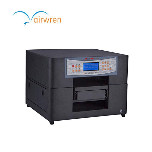 Máquina de impressão UV do azulejo da impressora do leito de Digitas do tamanho A4 no estoque