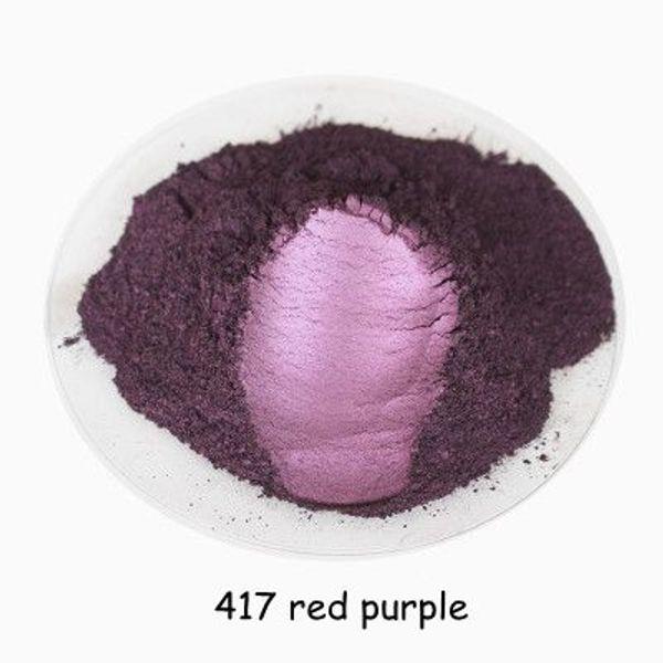 417 rojo púrpura