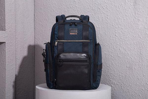 Zaino di nylon balistico di alta qualità per gli uomini Borsa da viaggio portatile di affari borsa da viaggio all'aria aperta come Tumi Brief Pack Alpha