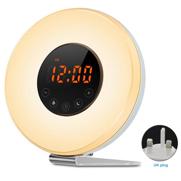 Lever Lampe Du Réveillez Fm Radio Acheter Vous Avec Chevet Affichage Coucher De Veilleuse Soleil Simulation L'heure Réveil 5jL4c3RAq